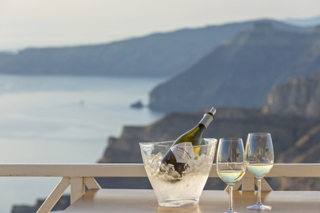 Santo Winery Santorini Assyrtiko Greece