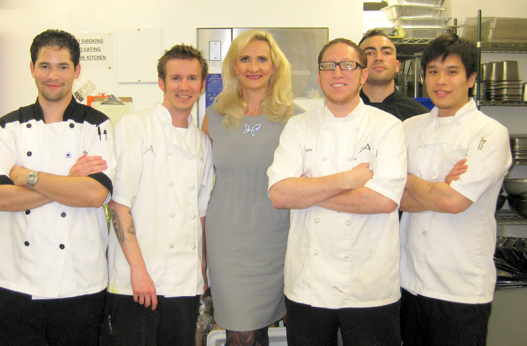 Sophie Gayot Chef Ryan Carson