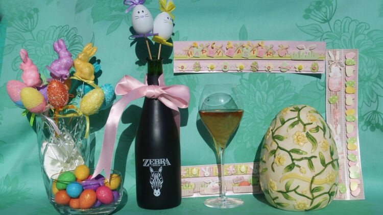 Easter champagne cocktails