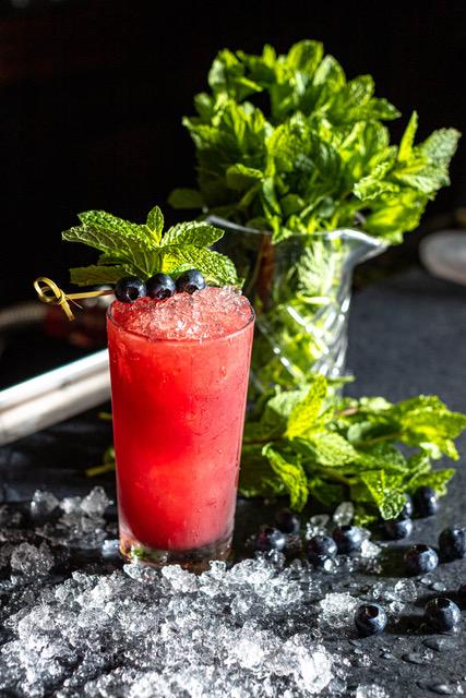 Blueberry Yum Yum cocktail