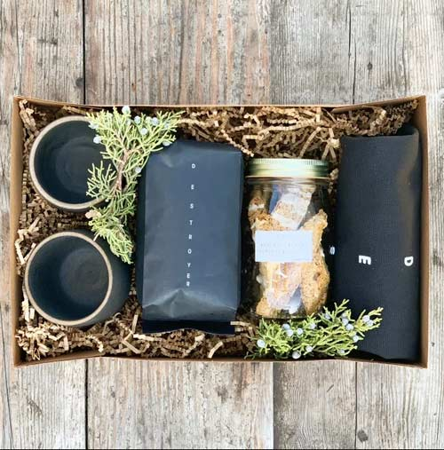 Coffee gift box by Destroyer