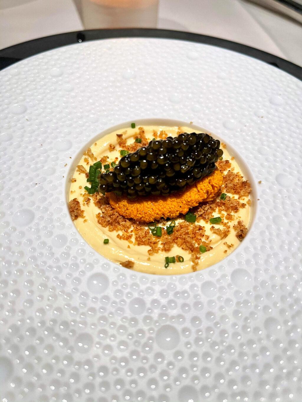 Sea urchin & caviar