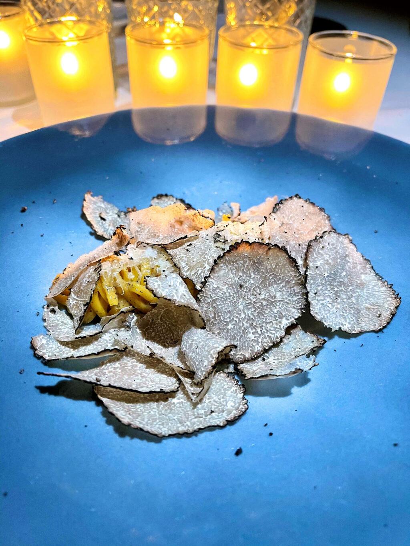 Tagliatelle truffles