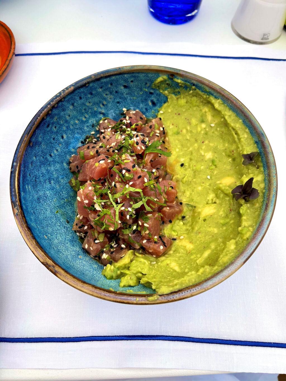 Bluefin tuna tartare
