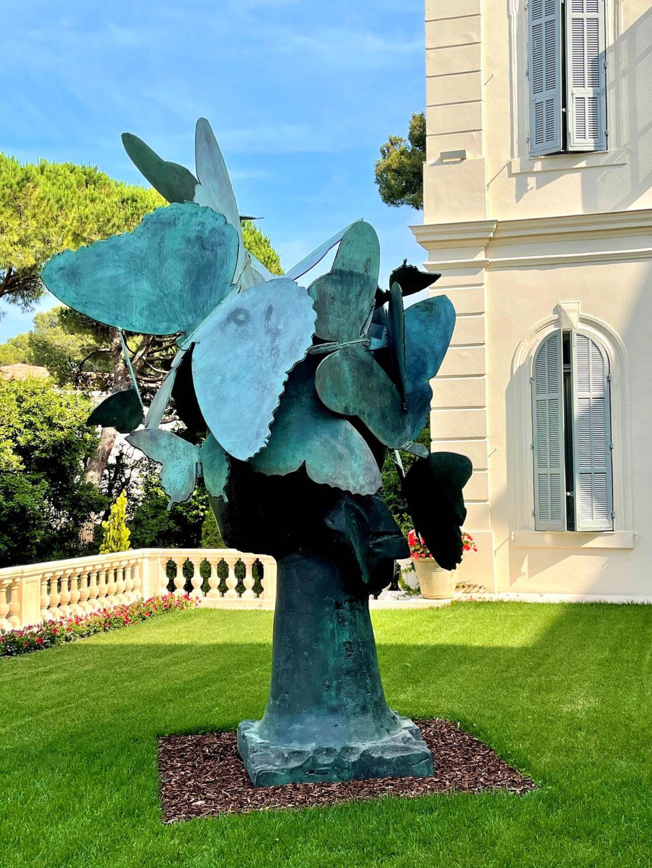 Manolo Valdes butterflies