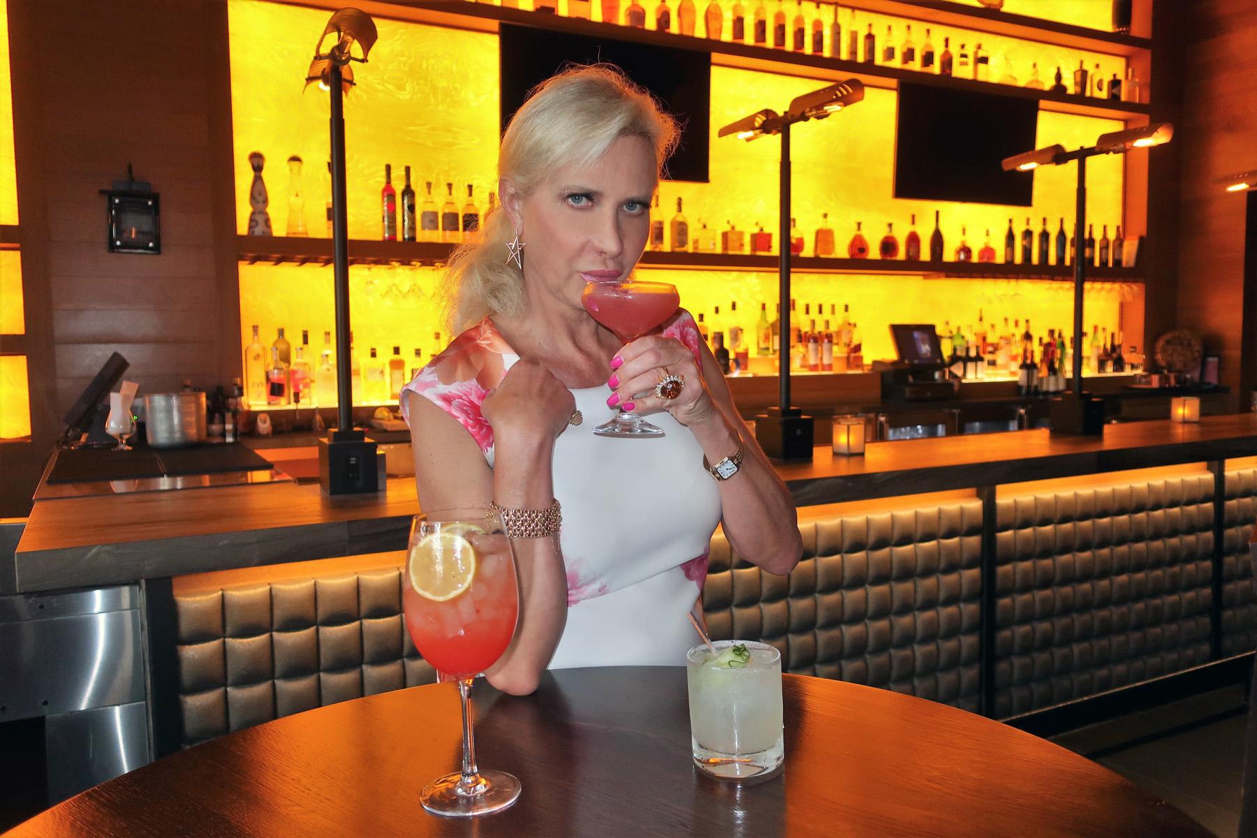 Sophie Gayot at Ocean Prime Beverly Hills, CA