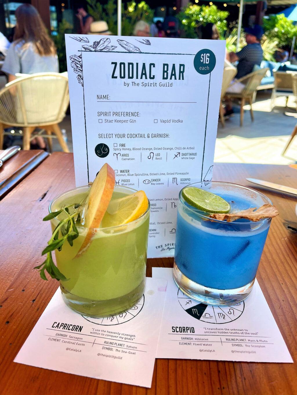 Zodiac Cocktails