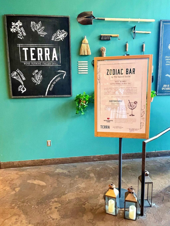 Zodiac Pop-up Bar at Terra, Eataly LA