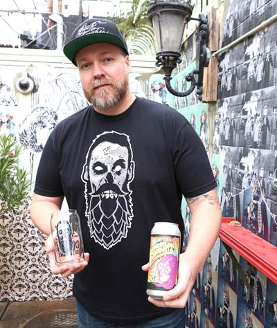 Chris Jacobs, owner/founder of Beer Zombies