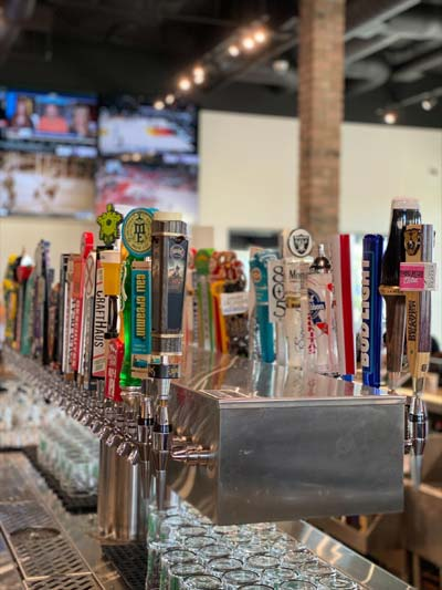 PKWY Tavern beers on tap