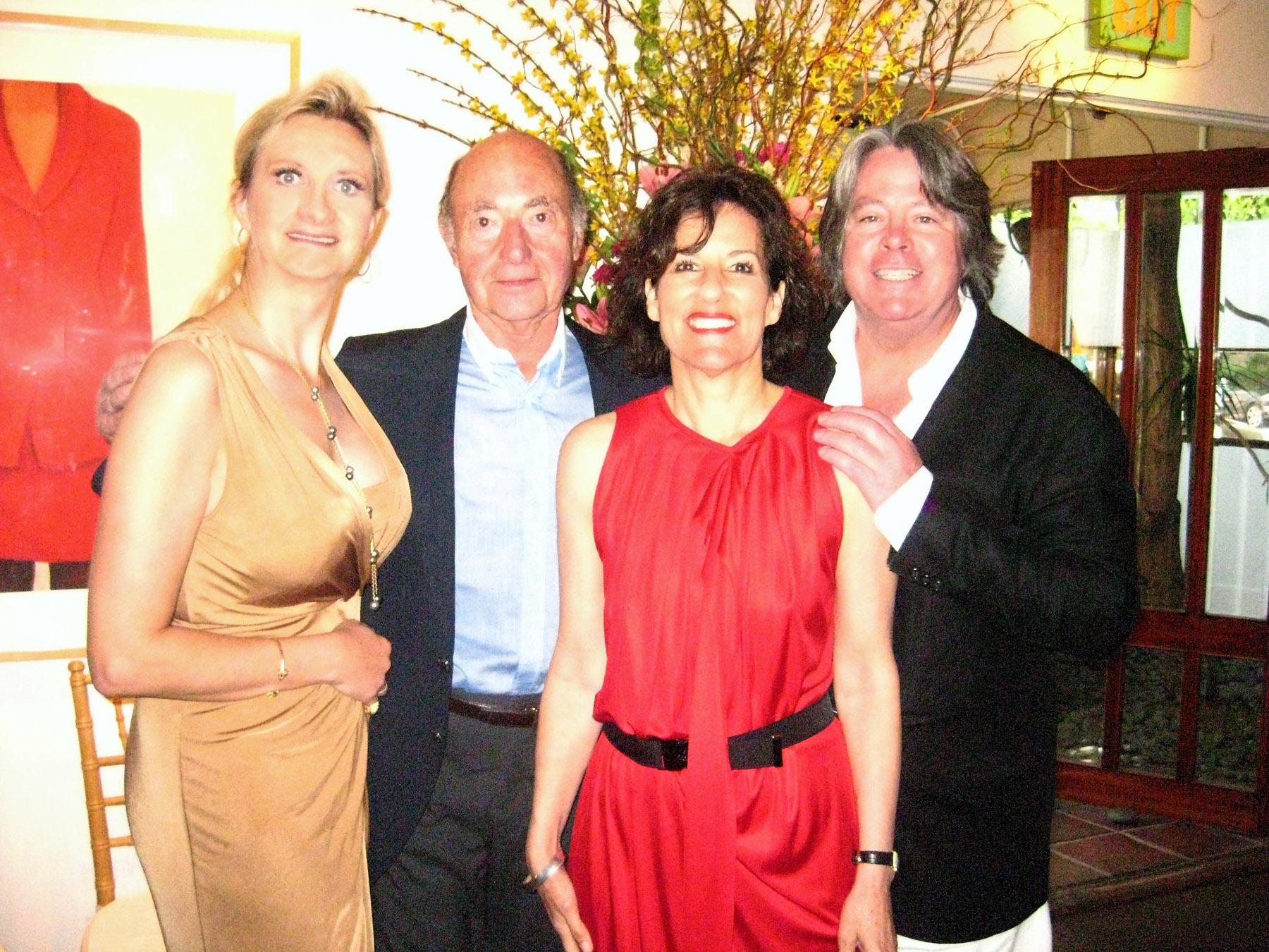 Sophie Gayot, André Gayot, Michael & Kim McCarty