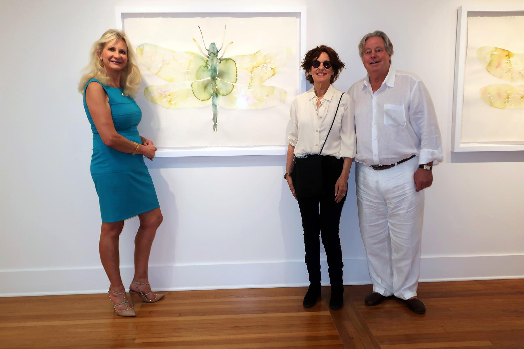 Kim McCarty 2021 Watercolors, Michael McCarty, Sophie Gayot