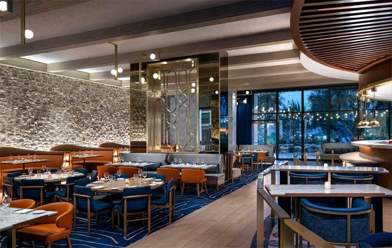 Brezza restaurant, Resorts World | Las Vegas, Nevada