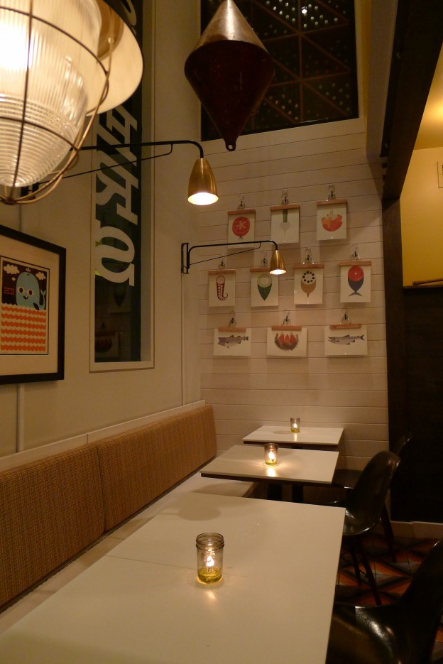 Interior shot of Fishing With Dynamite in Manhattan Beach, CA