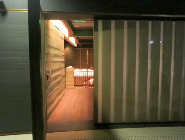 The hidden entrance