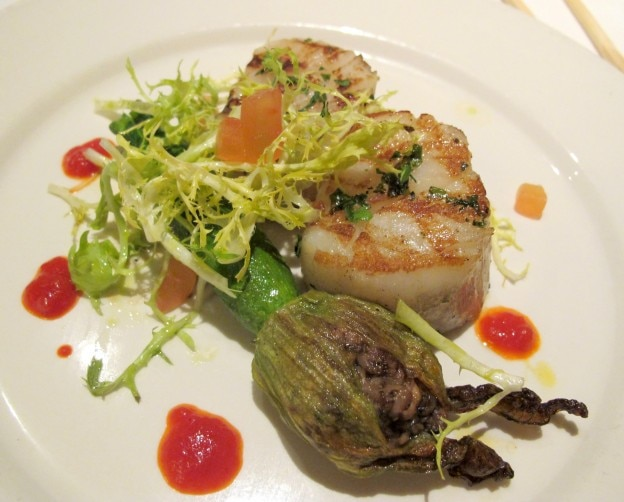 Grilled Diver Scallop