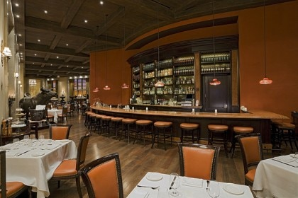 Bar at Carnevino Restaurant