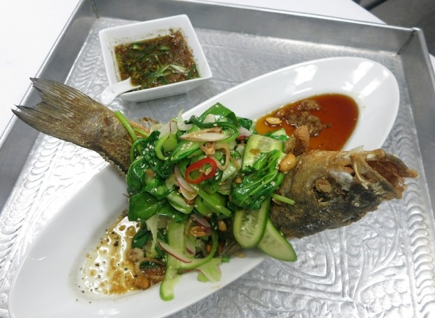 Crispy Sea Bass