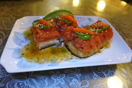 Crispy rice spicy tuna