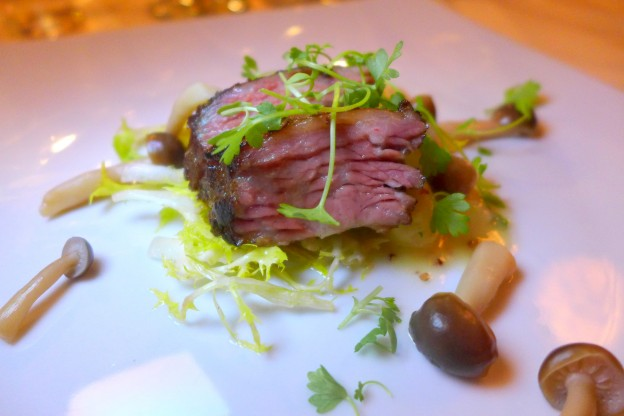 Beef rib pastrami