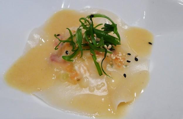Vietnamese style ravioli