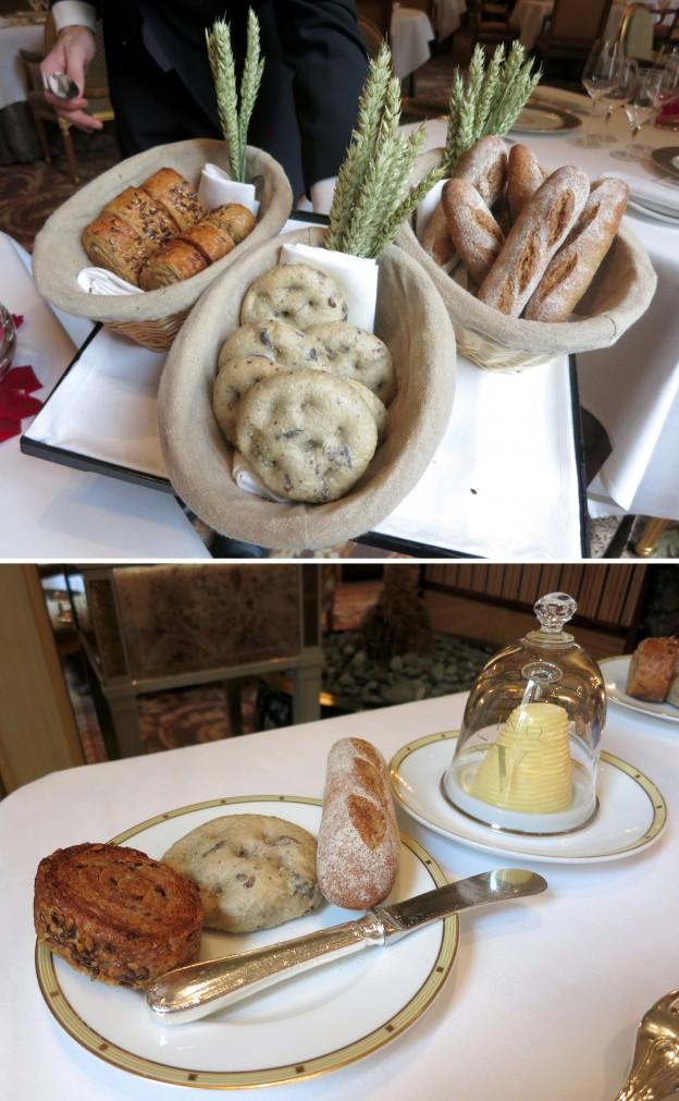 Breads & Bordier butter
