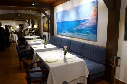 Masia de la platja dining room