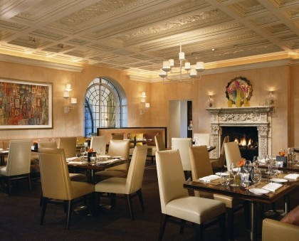 Mansion restaurant dining room