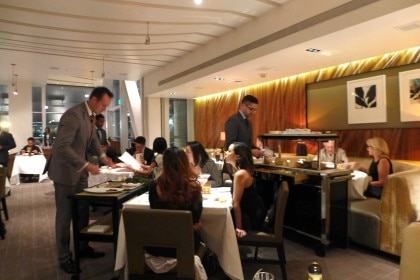 Patina dining room