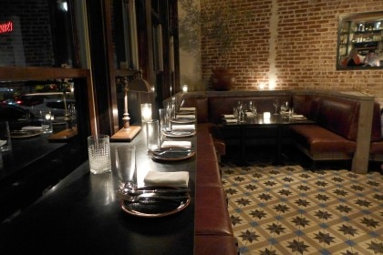 Steak and whisky dining room