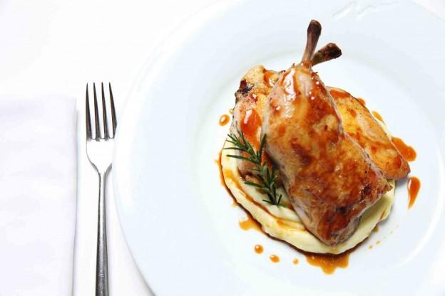 Rotisserie Jidori farm chicken
