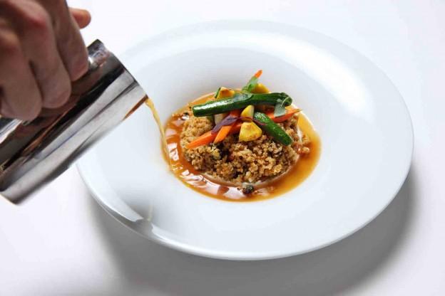 Vegeterian couscous